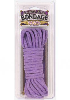 Purple Cotton Bondage Rope