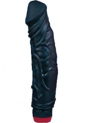 Big Boss Realistic Vibrator Black 8.5 Inch