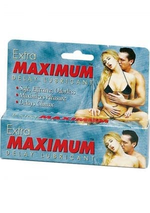 Extra Maximum Delay Lubricant Large 1.5 Ounce