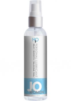 Jo H2O Water Based Lubricant For Women 4 Ounce Spray