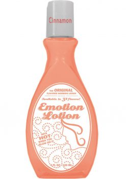 Emotion Lotion Flavored Warming Lotion Cinnamon 4 Ounce