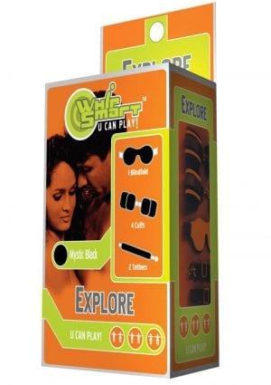 Whip Smart Explore Bondage Kit Mystic Black