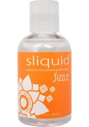 Sliquid Sizzle Warming Water Based Lubricant 4.2 Ounce