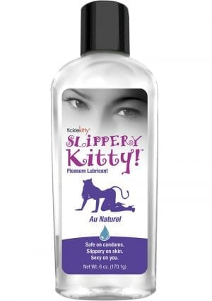 Slippery Kitty Water Based Lubricant 6 Ounce
