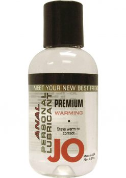 Jo Premium Warming Anal Silicone Lubricant 2.5 Ounce