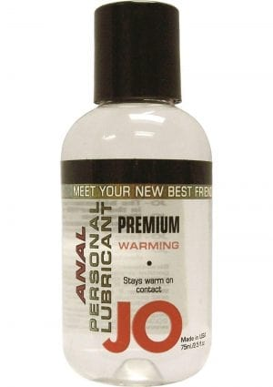 Jo Premium Warming Anal Silicone Lubricant 2 Ounce