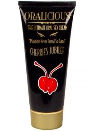 Oralicious Ultimate Oral Sex Cream 2 Ounce Cherries Jubilee