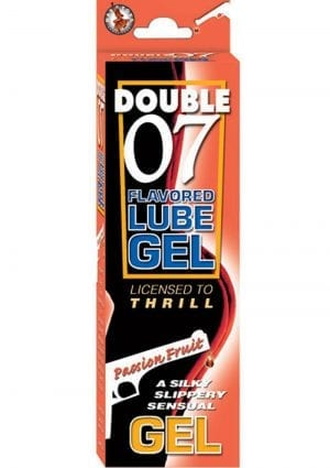 Double 07 Flav Lube Gel - Passion Fruit