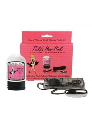 Tickle Her Pink Ultimate Orgasm Clitoral Pleasure Kit
