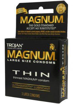 Trojan Magnum Thin 3`s