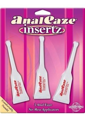 Anal Eaze Insertz 10 mL 3 Per Pack