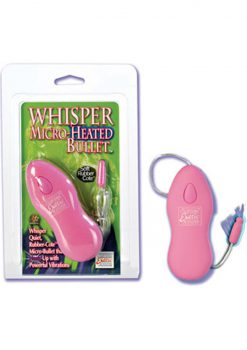 Whisper Micro Heated Bullet Pink