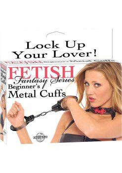 Fetish Fantasy Beginner Metal Cuffs