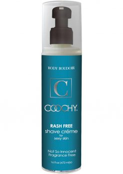 Coochy Rash Free Shave Creme Fragrance Free 16 Ounce