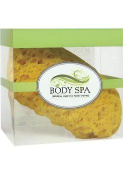 Body Spa Personal Vibrating Foam Sponge Yellow
