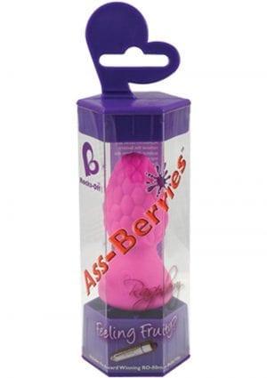Ass Berries Raspberry Waterproof Pink