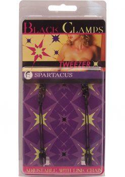 Black Tweezer Clamps