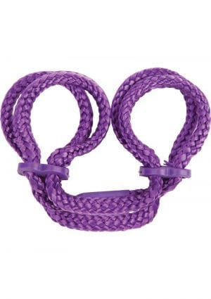 Japanese Anklecuffs - Purple