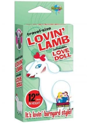 Travel Size Lovin Lanb Blow Up Doll