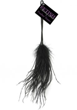 Fetish Fantasies Feather Teaser Black