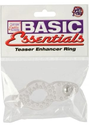 Basic Essentials Teaser Enhancer Ring Clear