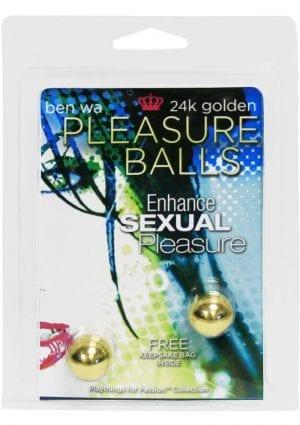 Pleasure Balls with Keepsake Bag