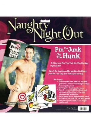 Naughty Night Out Pin The Cock On The Jock