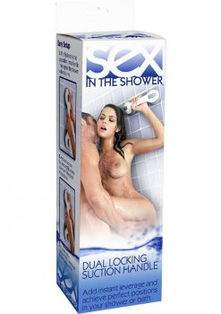 Sex In The Shower Dual Locking Suction Handle White