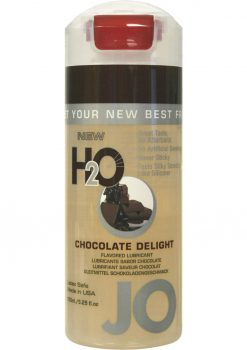 Jo H2O Flavored Water Based Lubricant Chocolate Delight 5.25 Ounce