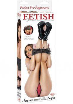 Fetish Fantasy Japanese Silk Rope Black