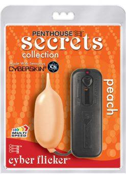 Penthouse Secrets Cyber Flicker Egg Peach