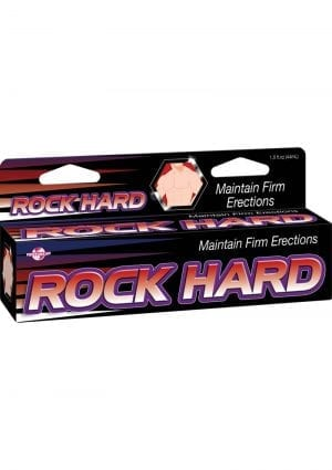 Rock Hard Maintain Hard Erections 1.5 Ounce Tube