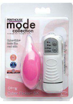 Penthouse Mode Cyber Flicker 5X Waterproof Pink Passion
