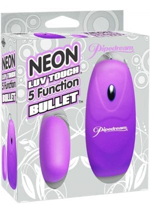 Neon Luv Touch 5 Function Bullet 2.25 Inch Purple