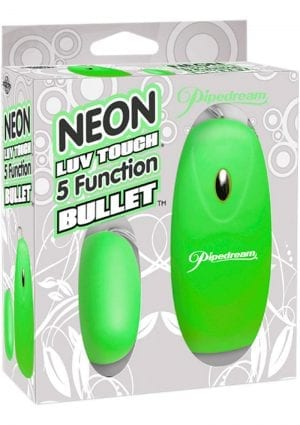 Neon Luv 5 Function Bullet Green