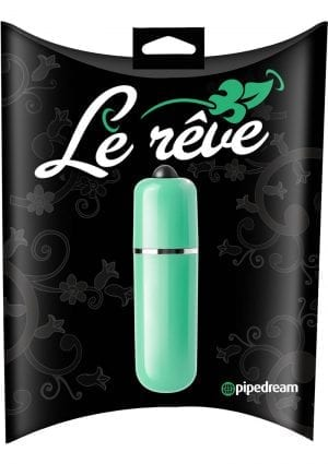 Le Reve Bullet Waterproof 2.5 Inch Green