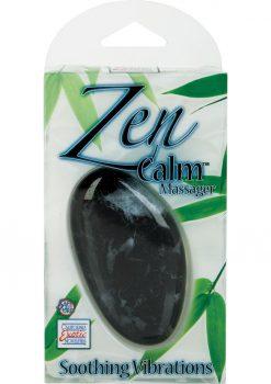 Zen Calm Massager 3.75 Inch Multispeed Black