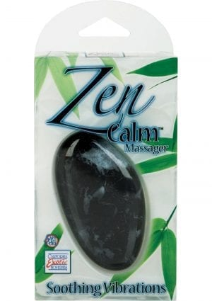 Zen Calm Massager 3.75 Inch Multispeed Black