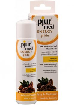 Pjur Med Energy Glide Water Based Lubricant 3.4 Ounce