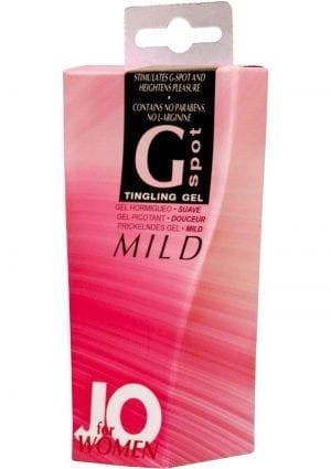 Jo Women G Spot Tingling Gel Mild 10 mL