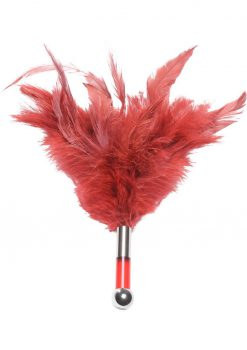 Tantra Feather Teaser Red