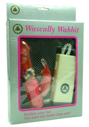 WASCALLY WABBIT 7 INCH PINK