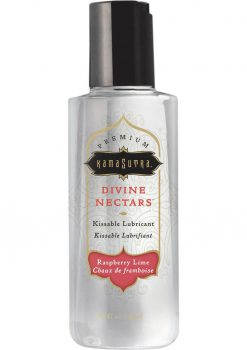 Divine Nectars Rasbperry Lime Kissable Lubricant