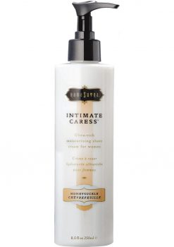 Intimate Caress Moisturizing Shave Cream For Women Honeysuckle 8.5 Ounce