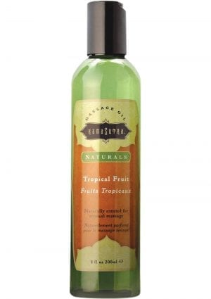 Naturals Tropical Fruits Massage Oil 8 oz