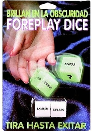 Spanish Foreplay Dice