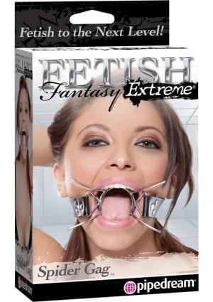 Fetish Fantasy Extreme Spider Gag Silver