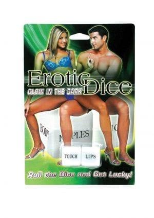 Glow In The Dark Erotic Dice