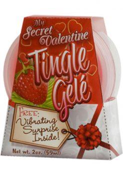 My Secret Valentine Tingle Gel Strawberry