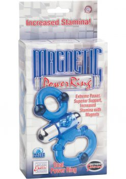 Magnetic Power Ring Dual Power Ring With Magnets Blue